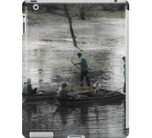 On the Lake in Cambodia iPad Case/Skin