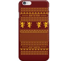 House Lannister Sweater iPhone Case/Skin