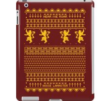 House Lannister Sweater iPad Case/Skin