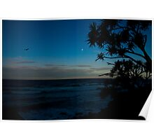 Burleigh by Moonlight Poster