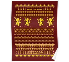 House Lannister Sweater Poster