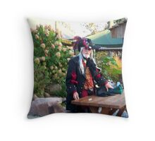 French Pirate .... by demand! Throw Pillow