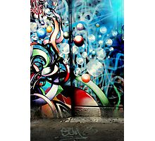 The Bubbly Back Door Photographic Print