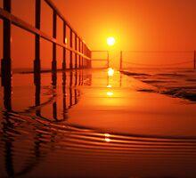 Sunrise Swim {b} by Nick Ford