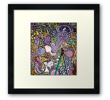 What His Music Gave Me..... Framed Print