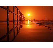 Sunrise Swim {c} Photographic Print