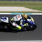 Valentino Rossi by Michelle Dewis