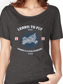Learn to Fly Women's Relaxed Fit T-Shirt