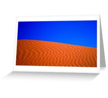Where the Sand Meets the Sky Greeting Card