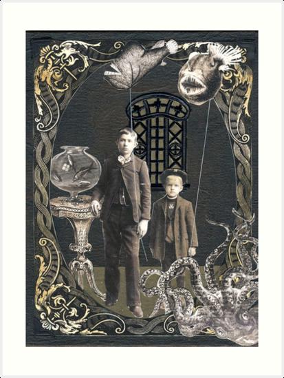 Deep Sea Souvenirs by WinonaCookie