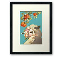 Darlin' Clementine Framed Print