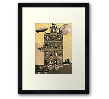Zora Lavinski's Moving Rooming House Framed Print