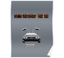 Back To The Future 'Roads' 2015 Edition - Grey Poster