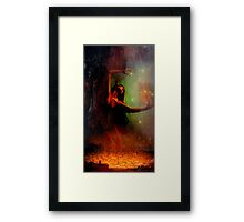 Vala....Middle Earth Framed Print