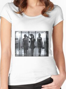 Death of a Teen Dream Women's Fitted Scoop T-Shirt