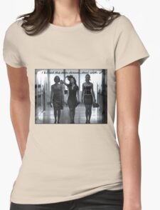 Death of a Teen Dream Womens Fitted T-Shirt