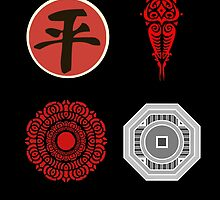 Legend Of Korra Villians Logo by AvatarSkyBison