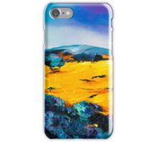 Provencal countryside iPhone Case/Skin