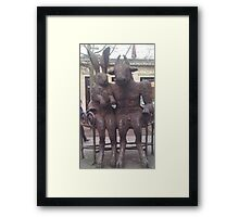 Minotaur and Hare. Framed Print