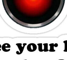 HAL 9000 Sticker