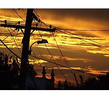 Newtown Sunset Photographic Print
