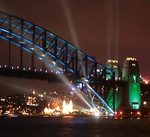 Sydney Harbour Bridge 75th Anniversary by kingdaniel69