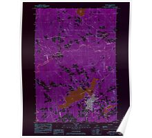 Maine USGS Historical Map Dexter 806641 1984 24000 Inversion Poster