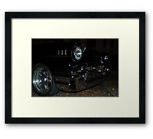 1957 Complexion  Framed Print