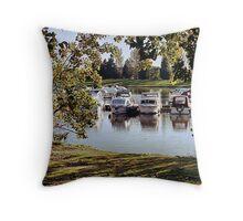 billing lake 3 Throw Pillow