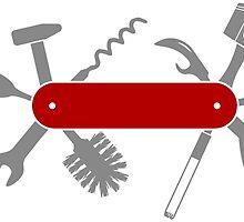 Men pocket knife by muli84