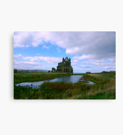 Whitby Abbey #1 Canvas Print