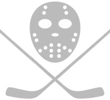 Hockey mask and bat by muli84
