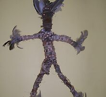 Ooga Booga Doll - Male Banksia man head by pinkstinks