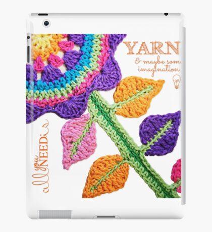 All You Need Is...Yarn! iPad Case/Skin