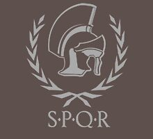 Laurel wreath and helmet SPQR Rome Unisex T-Shirt