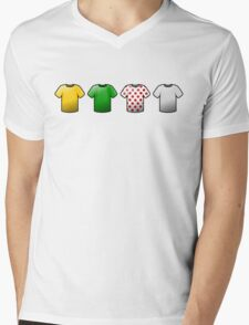 tour de france jerseys Icons Mens V-Neck T-Shirt