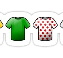 tour de france jerseys Icons Sticker