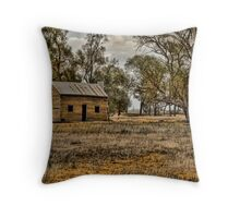 Home Amongst The Gumtrees. Throw Pillow