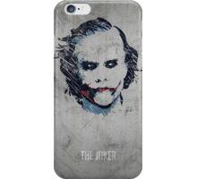 The Joker. iPhone Case/Skin