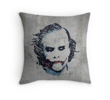 The Joker. Throw Pillow