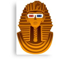 Pharaoh with 3D glasses  Canvas Print