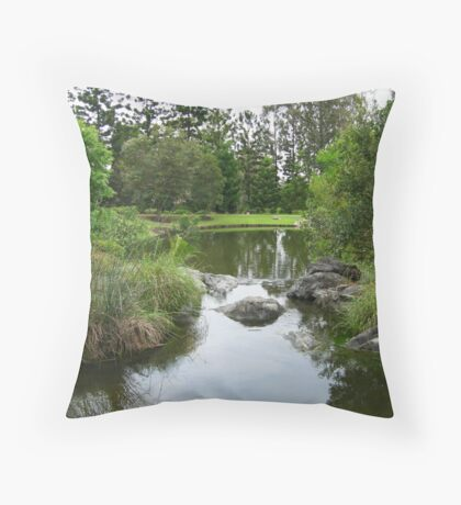 Tranquil Scene Throw Pillow