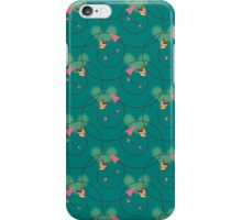 Illustration with hearts and arrows. iPhone Case/Skin