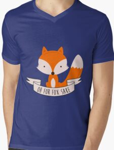 Oh For Fox Sake Mens V-Neck T-Shirt