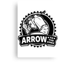 Arrow To The Knee Canvas Print