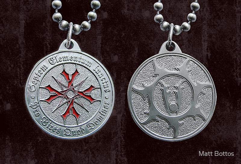 World Vampire Nation Medallion Designs by Matt Bottos