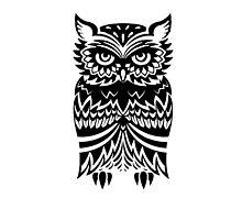 Tribal Owl by revoltz