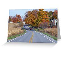 Sunday Drive... Greeting Card