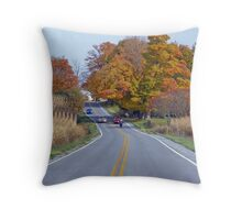 Sunday Drive... Throw Pillow