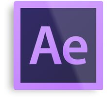 Adobe After Effects. Metal Print